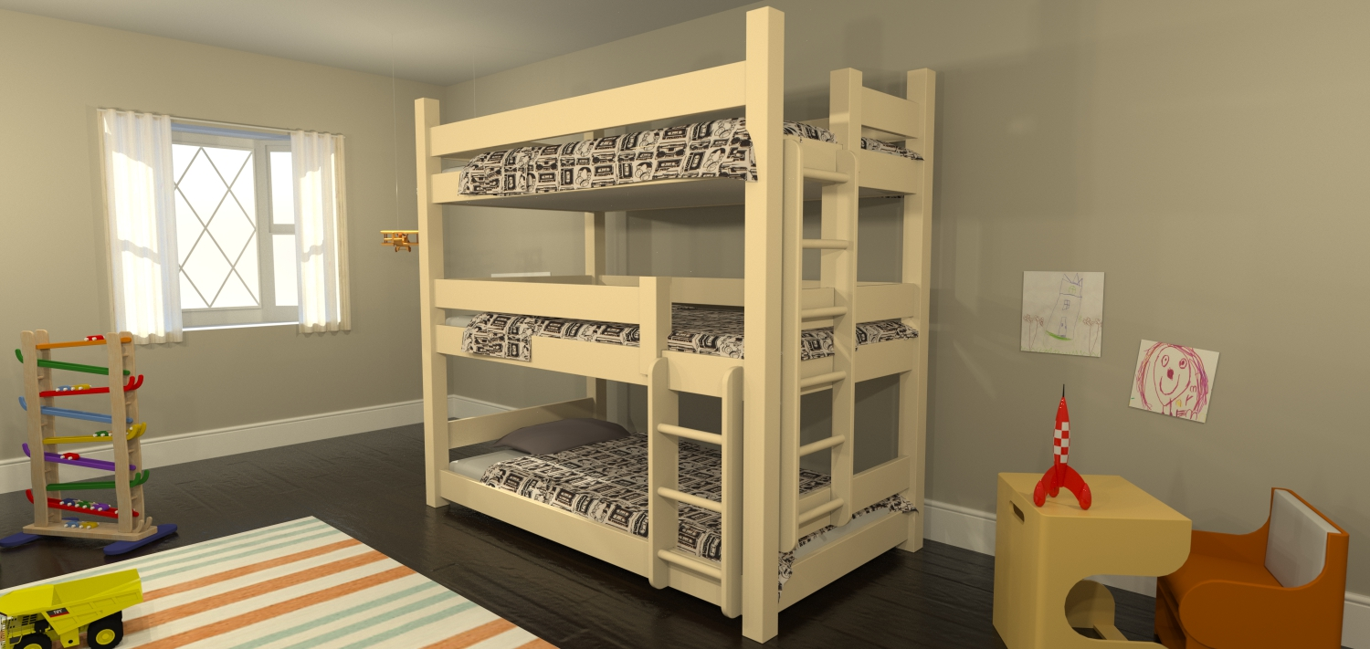 Bunk beds the complete guide fashionokplease for Bunk bed room layout