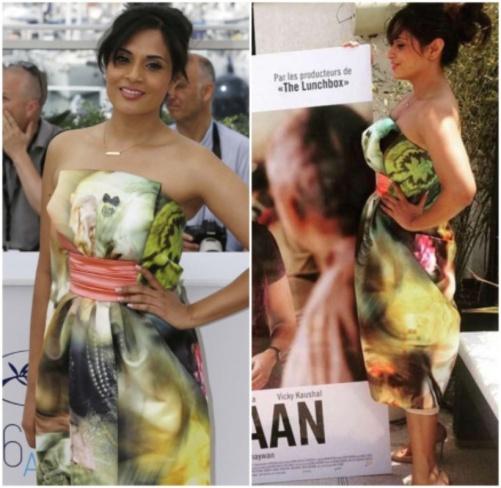 Richa Chadha Cannes 2015