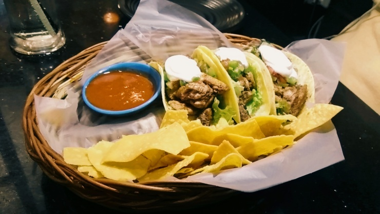 Adobo Tacos at Cafe Bistro at Coffee Break, Bandra West