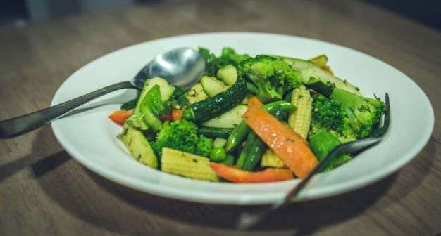 Beyond Elements Stir Fried Vegetable Salad