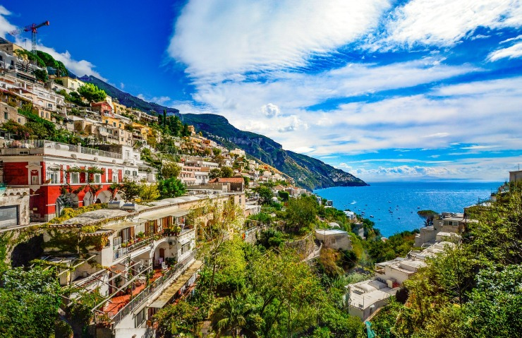 Amalfi Coast - italian coastline for road trip