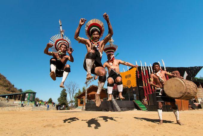 Hornbill music festival in india.jpg