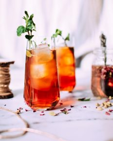 Cranberry Vodka mocktail Cranka
