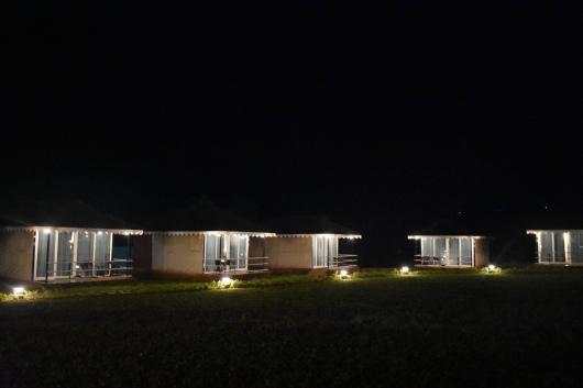 Delux Tent Durshet Nature Lodge at Night.JPG