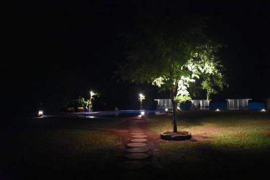 Durshet Nature Lodge at Night