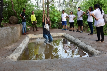 Tarzan jump adventure sport at durshet forest lodge resort near mumbai 1