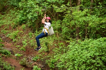 Zip lining at Durhset Forest Lodge near mumbai Adventure sports (2)