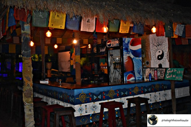 Bar at Forest Monk Lodge
