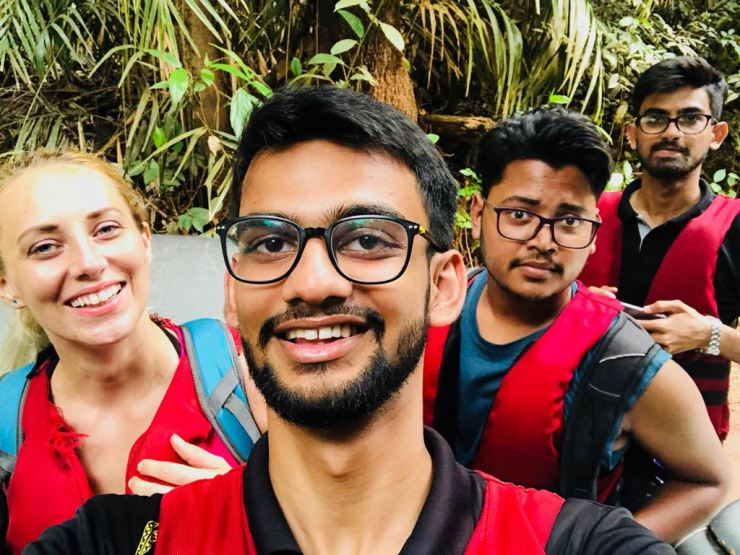 My Goa Backpacking Gang