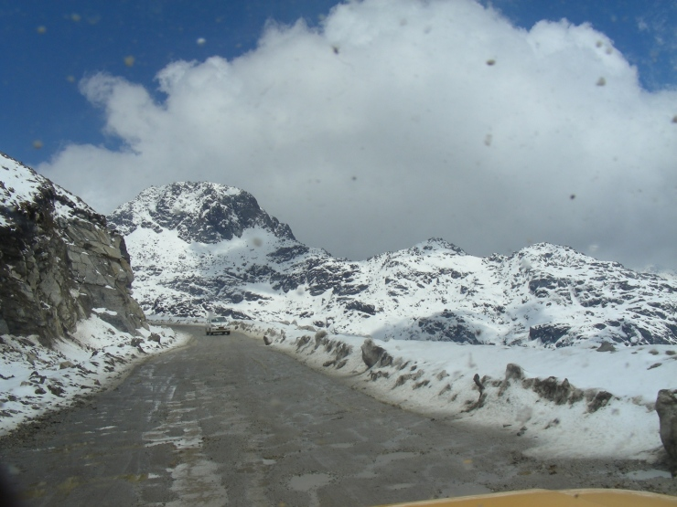 road conditions in sikkim